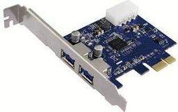 Kontroler LogiLink PCI Express 2 x USB3.0 (PC0054)