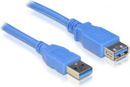 Kabel USB Delock Przedłużacz USB AM-AF 3.0 2M (82539)