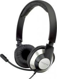 Słuchawki z mikrofonem Creative Labs ChatMax HS-720 USB (51EF0410AA002)