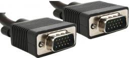Kabel Gembird D-Sub (VGA) - D-Sub (VGA), 1.8, Czarny (CCPPVGA6B)
