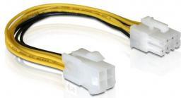 Delock kabel zasilający 4PIN ATX ->EPS 8PIN (82405)