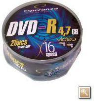 Esperanza DVD-R/25/Cake 4.7GB 16x