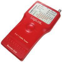 LogiLink Tester okablowania 5-in-1 z jednostką zdalną (WZ0014)
