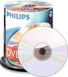 Philips DVD+R 4,7GB 16X CAKE*100 DR4S6B00F/00