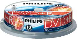 Philips DVD+R DL 8.5 GB 8x 10 sztuk (DR8S8B10F)