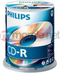 Philips CD-R 700 MB 52x 100 sztuk (CR7D5NB00)