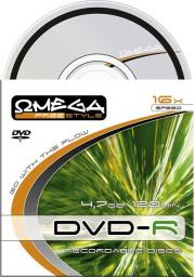 Omega FREESTYLE DVD-R 4,7GB 16X SAFE PACK*1 [56613]