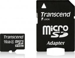 Karta MicroSD Transcend 16GB (TS16GUSDHC4)