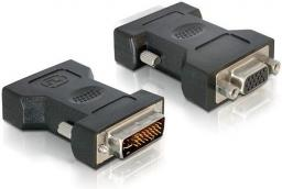 Adapter AV Delock adapter DVI-I(M)(24+5)->VGA(15F) (65016)