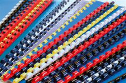 Argo Grzbiet plastikowy 8mm niebieski 100szt/op
