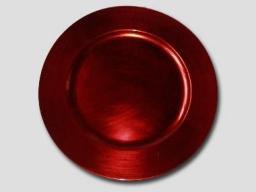 Hanipol Podkładka lakowa pod talerz czerwona (194-0002)