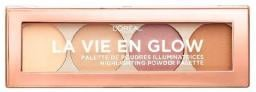 L'Oreal Paris Paleta rozświetlaczy La Vie En Glow Highlighting Powder Palette 01