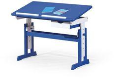 Halmar PACO biurko niebiesko - białe