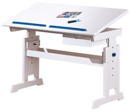 Halmar BARU biurko biało-różowo-niebieskie