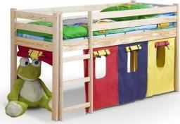 Halmar NEO - łóżko piętrowe z materacem - olcha