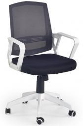 Halmar ASCOT fotel pracowniczy czarno-popielaty-biały