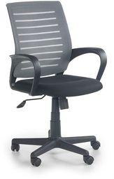 Halmar SANTANA fotel pracowniczy czarno-popielaty