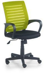Halmar SANTANA fotel pracowniczy czarno-zielony