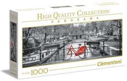 Clementoni Puzzle 1000 elementów. HQC - Panorama Amsterdam  (39440 CLEMENTONI)