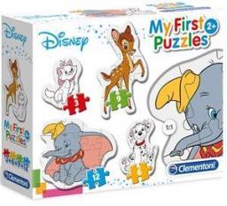 Clementoni Puzzle 3-6-9-12 Moje Pierwsze Puzzle Disney (20806)
