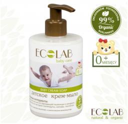 EO Laboratorie Baby Mydło kremowe dla dzieci 0+ (3431370) 300ml