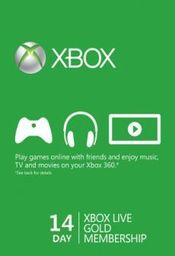 Microsoft Xbox Live Gold Trial Code XBOX LIVE 14 Days GLOBAL