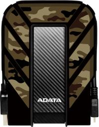 Dysk zewnętrzny ADATA HDD DashDrive Durable HD710M Pro 2 TB Czarny (AHD710MP-2TU31-CCF)