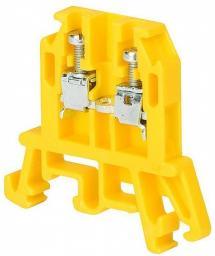 Pokój Złączka szynowa gwintowa ZUG-G 10 żółta (R34RR-01010101501)