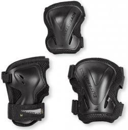 Rollerblade Zestaw ochraniaczy Rollerblade EVO Gear 3 Pack czarny r. L (068P0500100)