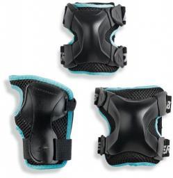 Rollerblade Ochraniacze damskie X-Gear 3 Pack czarne r. M (067P0300100)