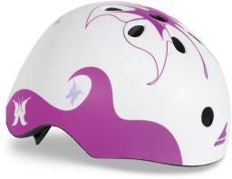Rollerblade Kask Twist Jr Helmet fioletowo-biały r. M (067H04009E2)