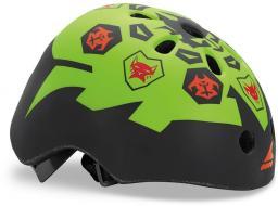 Rollerblade Kask Twist Jr Helmet czarno-zielony r. S (067H04001A1)