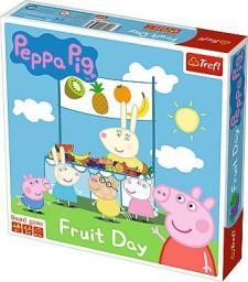 Trefl Gra planszowa Peppa Pig Fruit Day