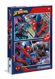 Clementoni Puzzle 2x60el Spider-Man