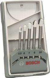 Zestaw wierteł Bosch Bosch Zestaw wierteł do płytek CYL-9 Ceramic 5 sztuk - 2608587170