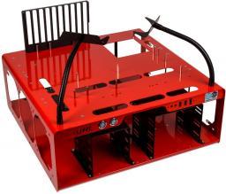 Obudowa DimasTech Benchtable EasyXL Czerwony (BT137)
