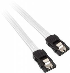 BitFenix Kabel SATA 3, 75cm, biały (BFA-MSC-SATA375WK-RP)