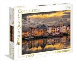 Clementoni Puzzle, 1000 elementów. HQC - Dutch Dreamworld  (39421 CLEMENTONI)