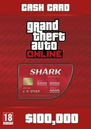 Grand Theft Auto Online: Red Shark Cash Card, ESD