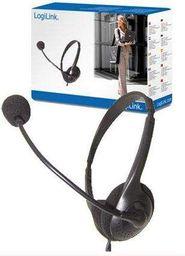 Słuchawki z mikrofonem LogiLink HS0001