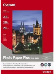 Canon Photo Paper Plus semi-glossy, 20 ark. SG201A3+ 1686B032
