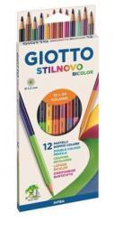 Giotto Kredki Stilnovo dwustronne 18 kolorów (273986)
