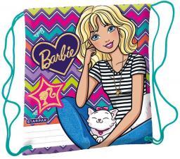 Starpak Worek szkolny na ramię Barbie wielokolorowy