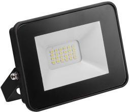 Naświetlacz GTV Naświetlacz LED iLUX 10W 800lm AC220-240V 50/60 Hz Ra>80 IP65 kąt świecenia 120 stopni zimna biała 6400K czarny (LD-iLUXCC10W-64)