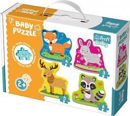 Trefl Puzzle Baby Classic, Zwierzątka leśne
