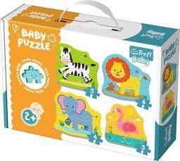Trefl Baby Classic - Zwierzątka na safari