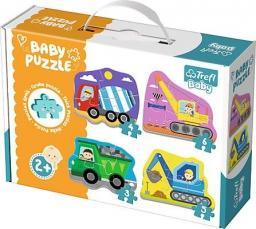 Trefl Baby Classic Pojazdy na budowie