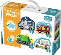 Trefl Puzzle Baby Classic, Pojazdy i zawody