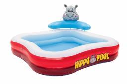 Bestway Basen familijny Hippo 201x201x91 cm