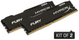 Pamięć Kingston Fury, DDR4, 16 GB,3200MHz, CL18 (HX432C18FB2K2/16               )